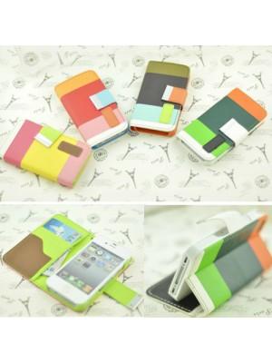 Кожен калъф с потрфейл  за iPhone 4/4S