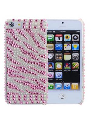 Калъф със изкуствени перли  за iPhone 5
