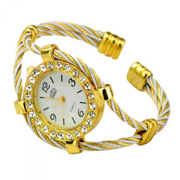 Дизайнерска  гривна часовник