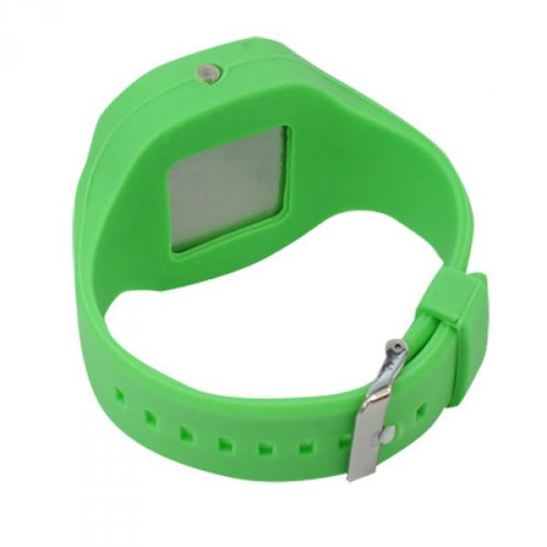 Спортен Силиконов часовник   Унисекс - Зелен