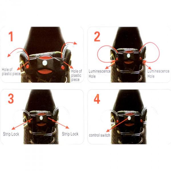 Ултра ярки  LED луминесцентни връзки