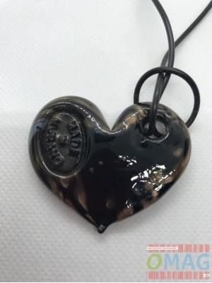 Колие Black Heart - MURANO